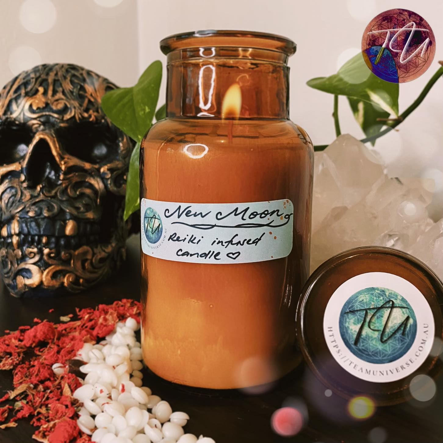soy wax candle, reiki infused products, reiki infused candles